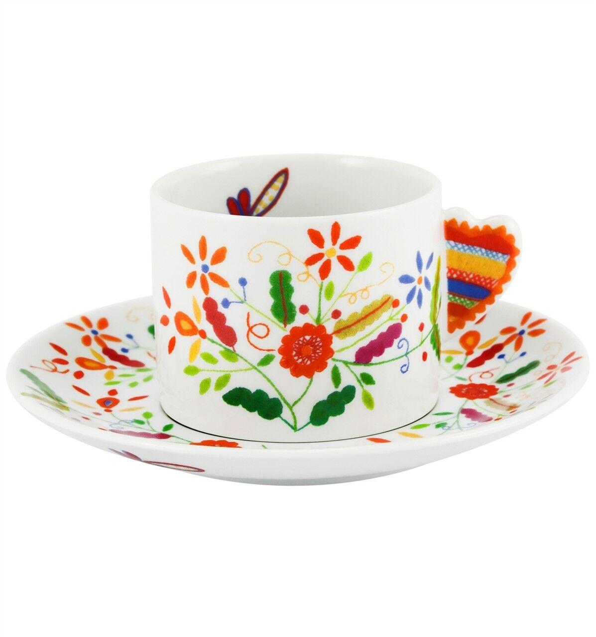Vista Alegre Vila vert Tea Cup & Saucer - Set of 8