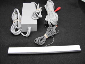 Nintendo-Wii-Genuine-OEM-Official-AC-Power-Supply-AV-Cable-Cord-and-Sensor-Bar