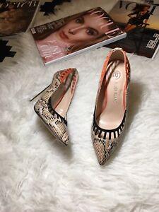 River Island Animal Print Shoes Size 3