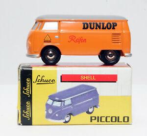 SCHUCO-PICCOLO-Volkswagen-VW-T1-Bus-Bulli-Dunlop-Reifen-F-24