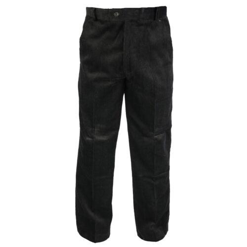 Pantaloni uomo corda spessa Smart Casual Jumbo pesante in velluto a coste W 30-50 Caldo Nuovo