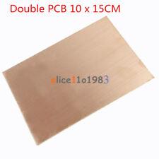 1//5//10PCS 10*15CM FR4 Double//Single PCB Copper Clad Laminate BoardUK