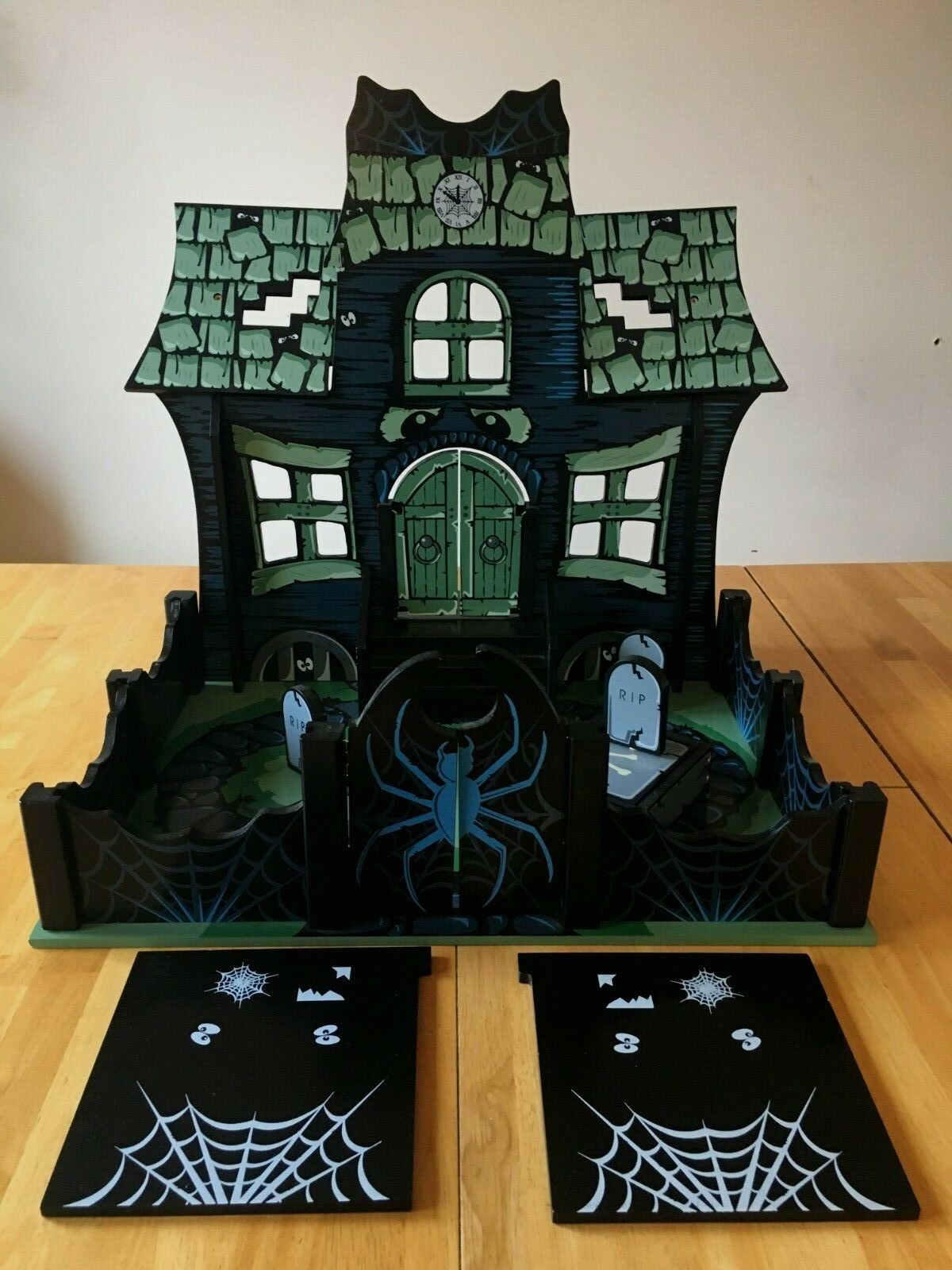 Rare  Le Toy Van  Wood  Haunted House