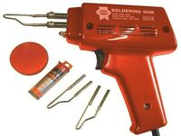 HEAVY DUTY FAST HEAT ELECTRIC SOLDERING GUN KIT 100W SOLDER 240V IRON TB-FAI11