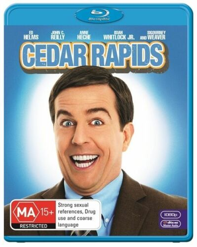 1 of 1 - Cedar Rapids - Blu Ray New/Sealed Region B
