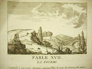 Fabula-la-fourmi-c-1800-the-ant-story-grabado-print-dans-le-sabor-la-fuente-de