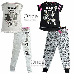 PRIMARK Ladies DISNEY TEAM GOOD Princess TEAM BAD Villains Pajama ... ecf006e28