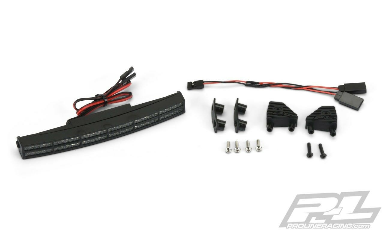 Pro-Line X-Maxx doppio Row 6  Curved Curved Curved Super-Bright LED Light Bar Kit - PRO6276-05 d612f0
