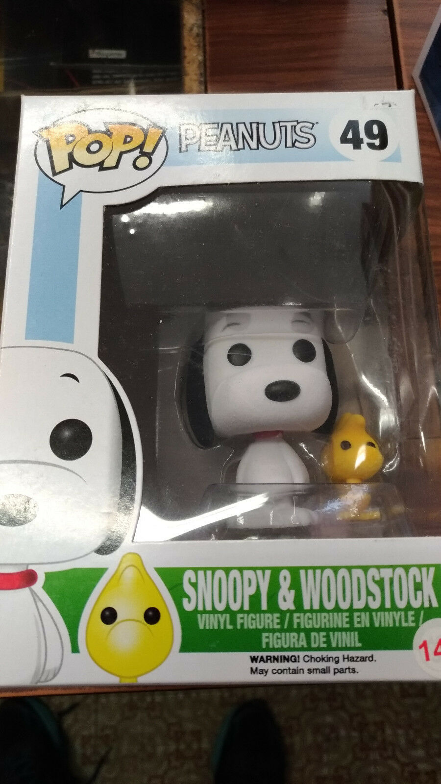 FUNKO - PEANUTS Snoopy & Woodstock  49 - FLOCKED Exclusive NEW NUOVO