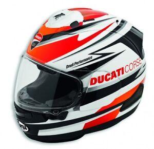 Detalles de Ducati Casco Integral Corse Speed Ece Arai RX7 Drudi Performance Casco Racing