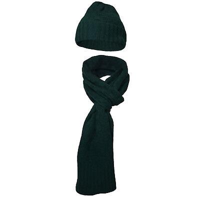 VertrauenswüRdig Hackett Herren Set Schal Und Mütze *neu* Lammwolle Warmes Lob Von Kunden Zu Gewinnen