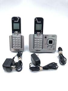 VTech-DS6521-2-Digital-Cordless-Telephone-amp-Answering-Machine-2-Phone-System