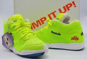 63fb6deb New Reebok Court Victory Pump X ALIFE Felt Yellow/Black/Ice/Red ...