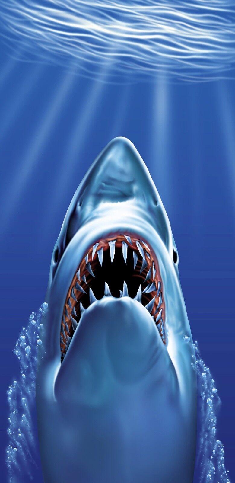 30x60 Large Great Weiß Shark Fish Fish Fish Cruise Vacation Pool Gift Bath Beach Towel b68e21