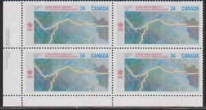 1986-Canada-SC-1077i-LL-Olympic-Winter-Games-1988-Plate-Block-M-NH-Lot-1800