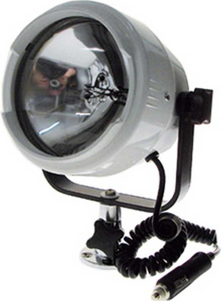 PROIETTORE ORIENTABILE IN ABS Altezza mm 250 luce di profondità a fascio stretto