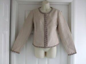 Evening Fits Womens Work Formal Jacket A Size Ladies Summer 14 Medium Smart 12 vqwW5Fx6