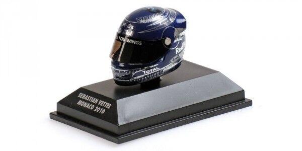 Helmet Sebastian Vettel Gp Monaco World Champion F1 2010 Replica 1 8 Model