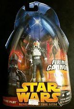 CLONE PILOT #34 Star Wars, Revenge of the Sith (HASBRO) Firing Cannon!
