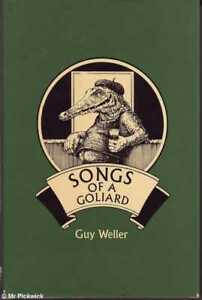 Guy-Weller-SONGS-OF-A-GOLIARD-ILLUSTRATED-BY-MELODY-HAMPTON-1st-Ed-SIGNED-HC