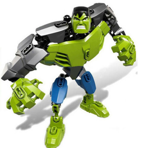 Avengers Transformers Star Wars Batman Joker Hulk Robot Minifigure Block Kid Toy