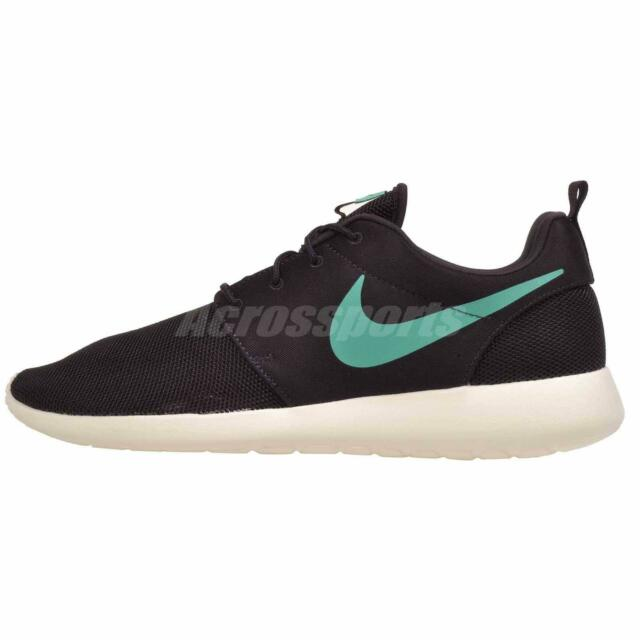 premium selection 68732 27bce Nike Roshe One Running Mens Shoes Sneakers Ash Emerald 511881-611