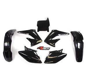 Racetech-Plastics-kit-BLACK-Honda-CRF450-2004