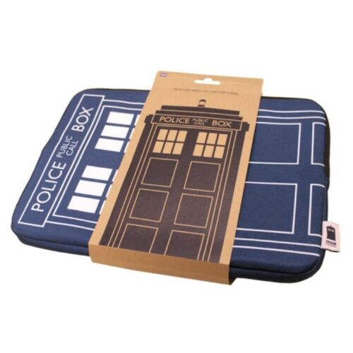 DOCTOR WHO TARDIS LAPTOP CASE 15 OFFICIAL BBC BRAND NEW GREAT GIFT