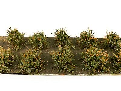 Martin Welberg SFAG Autumn Gold Low Bushes Thicket Model Ground Scenery Terrain