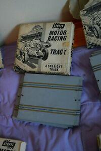 TempéRé Vintage Airfix Motor Racing 4 Straight Pack 5030-afficher Le Titre D'origine