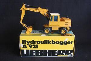 Geischa Model Liebherr A921 Hydraulic Excavator 1:50 #2821 (J&KvW)