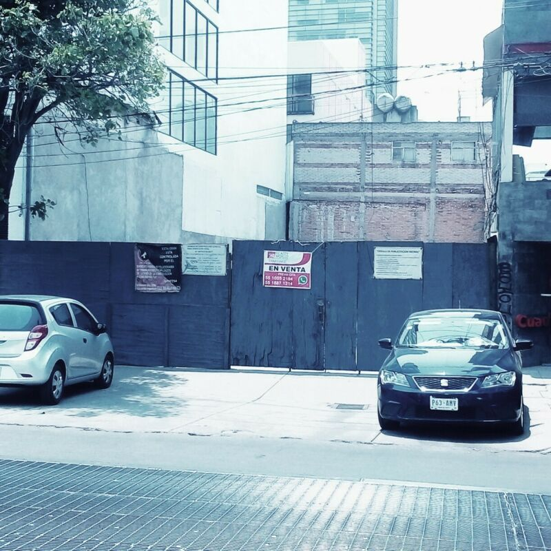 Terrenos Venta Benito Juárez Narvarte Poniente
