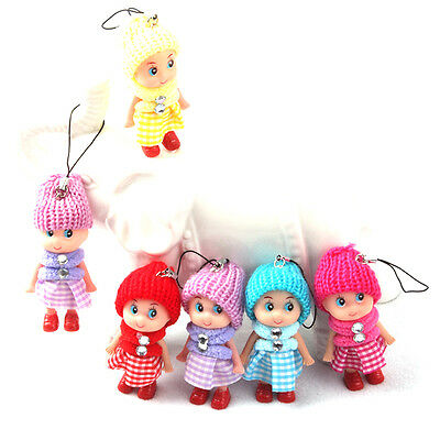 5Pcs Kids Toys Soft Interactive Baby Dolls Toy Mini Doll For Girls Cute Gift To