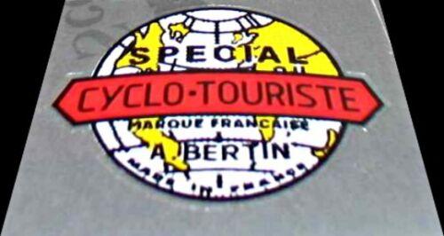 Bertin Bicycle CycloTourist Badge Decal sku Bert902