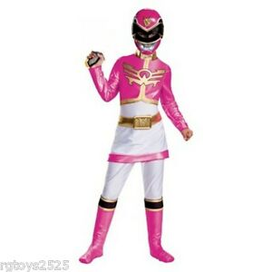 Image is loading Power-Rangers-Megaforce-Deluxe-Pink-Ranger-Child-Costume-  sc 1 st  eBay : pink power ranger child costume  - Germanpascual.Com