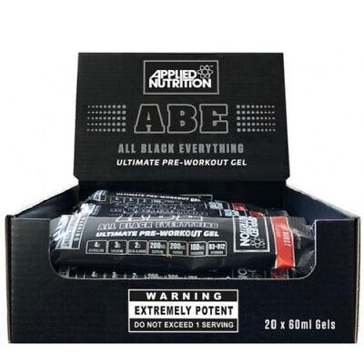 Applied Nutrition ABE Pre Workout Gel All Black Everything 20 x 60ml - Bubblegum