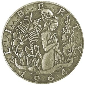 Liliths-Seduction-Novelty-Head-Tail-Good-Luck-Token-Challenge-Coin-US-FAST-SHIP