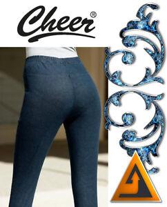 UnabhäNgig Slim Fit Damen Jeansleggings Stretch Hose Baumwolle Jeans Von Cheer 34 36 38