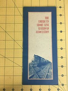 Vintage-Travel-Brochure-The-American-Short-Line-Railroad-Association
