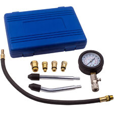 Engine Petrol Compression Pressure Tester Pipes Tool Pressure Gauge M12x125