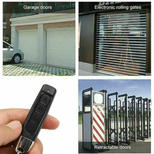 Button Remote Control 433MHZ Cloning Universal Replacement Garage Door Car-Gate
