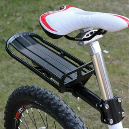 Universal Back Rear Bicycle Rack Aluminum Bike Cycling Cargo Luggage Carrier