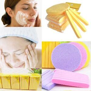 12x-cura-della-pelle-compresso-pulito-lavare-Puff-spugna-pulizia-viso-Stick-U4M6