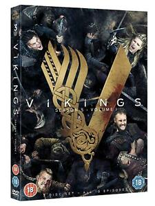 Vikings-Season-5-Volume-1-3x-DVD-NEU-Series-Staffel-Fuenf-10-Episoden