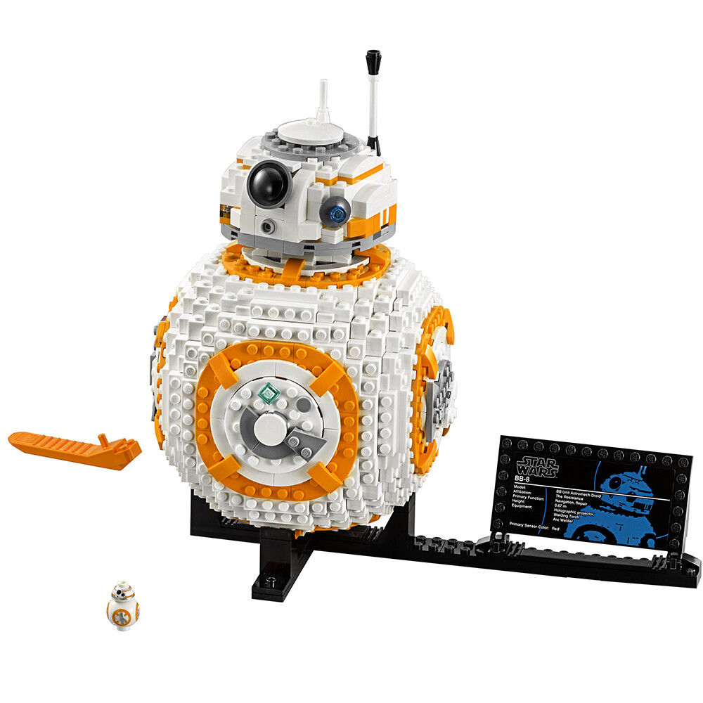 LEGO Star Star Star Wars BB-8 75187 - BB 8 Brand New Sealed UCS - WORLDWIDE SHIPPING 0583d1