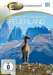 DVD-Terra-del-fuoco-della-BR-Fernweh-der-Guida-viaggio-con-Consigli-di-autoctoni