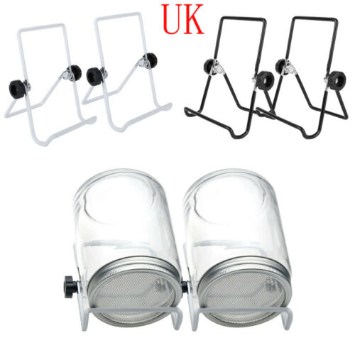 2 Foldable Seed Sprouting Lid Stand Stainless Steel Scaffold for Mason Jar Phone