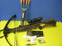 Barnett Wildcat Pink Camo C5 Crossbow With 4x32 Scope 18074 2014 Model