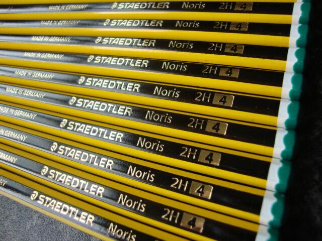 144 x Staedtler Noris Pencils Boxed - 2H Grade
