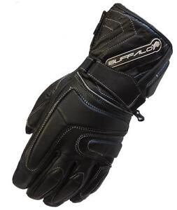 BUFFALO-ARCTIC-LEATHER-WATERPROOF-THERMAL-WINTER-MOTORCYCLE-MOTORBIKE-GLOVES